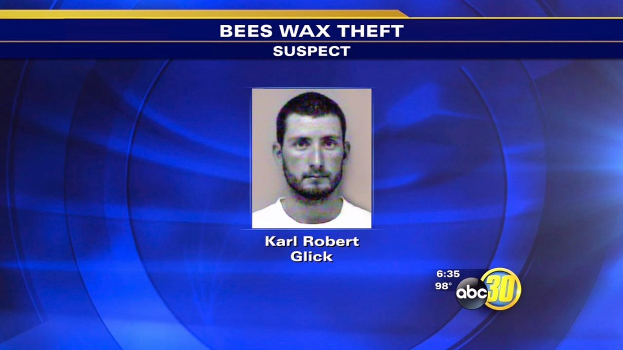 Chowchilla man accused of stealing 200 pounds of beeswax
