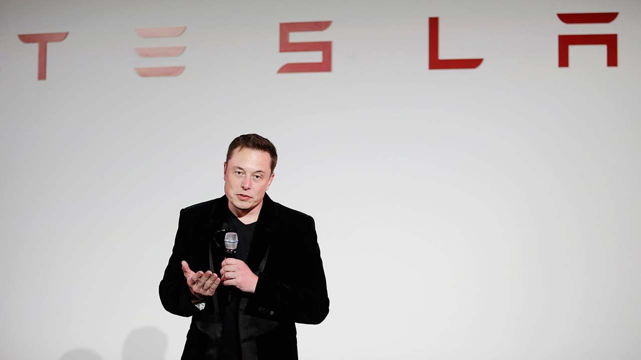 FILE - Elon Musk, CEO of Tesla Motors Inc.