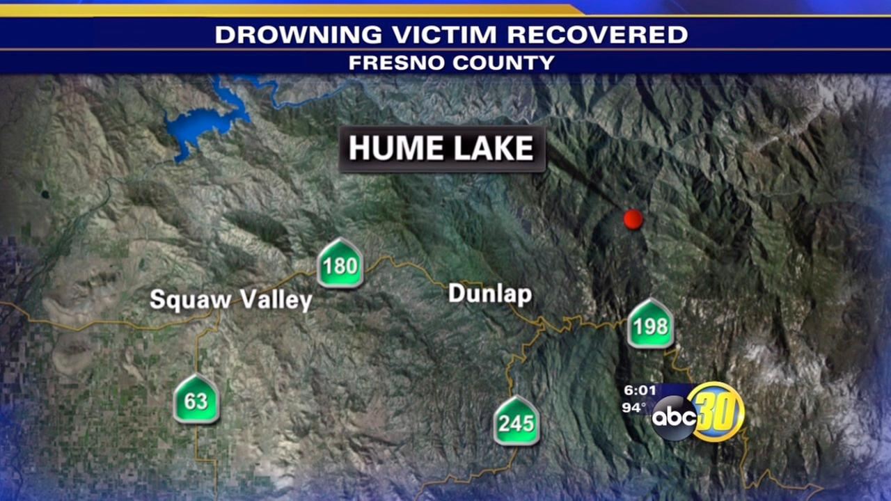Body of drowning victim recovered at Hume Lake