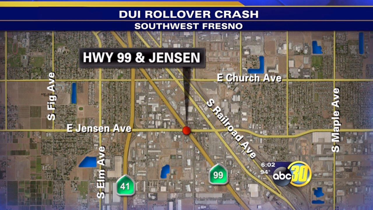 Investigators: Drugs or alcohol played role in Southwest Fresno crash