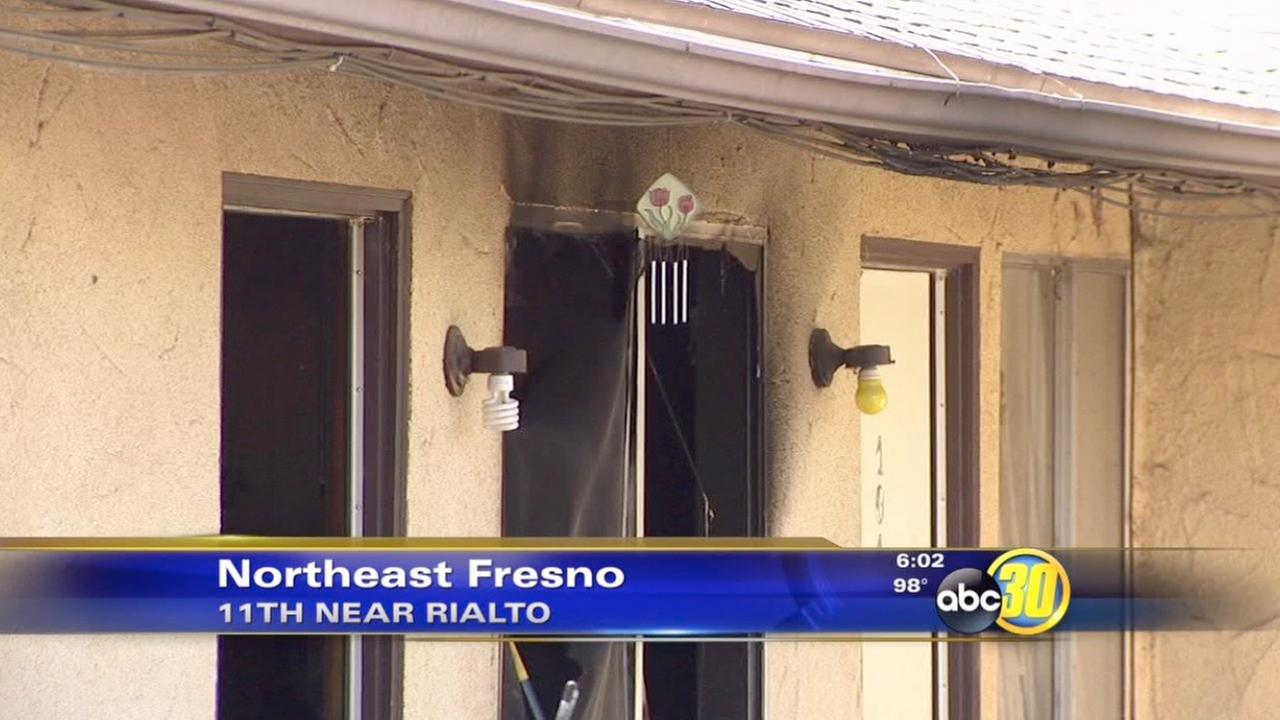Firefighters: Cigarette sparked fire at Northeast Fresno apartment