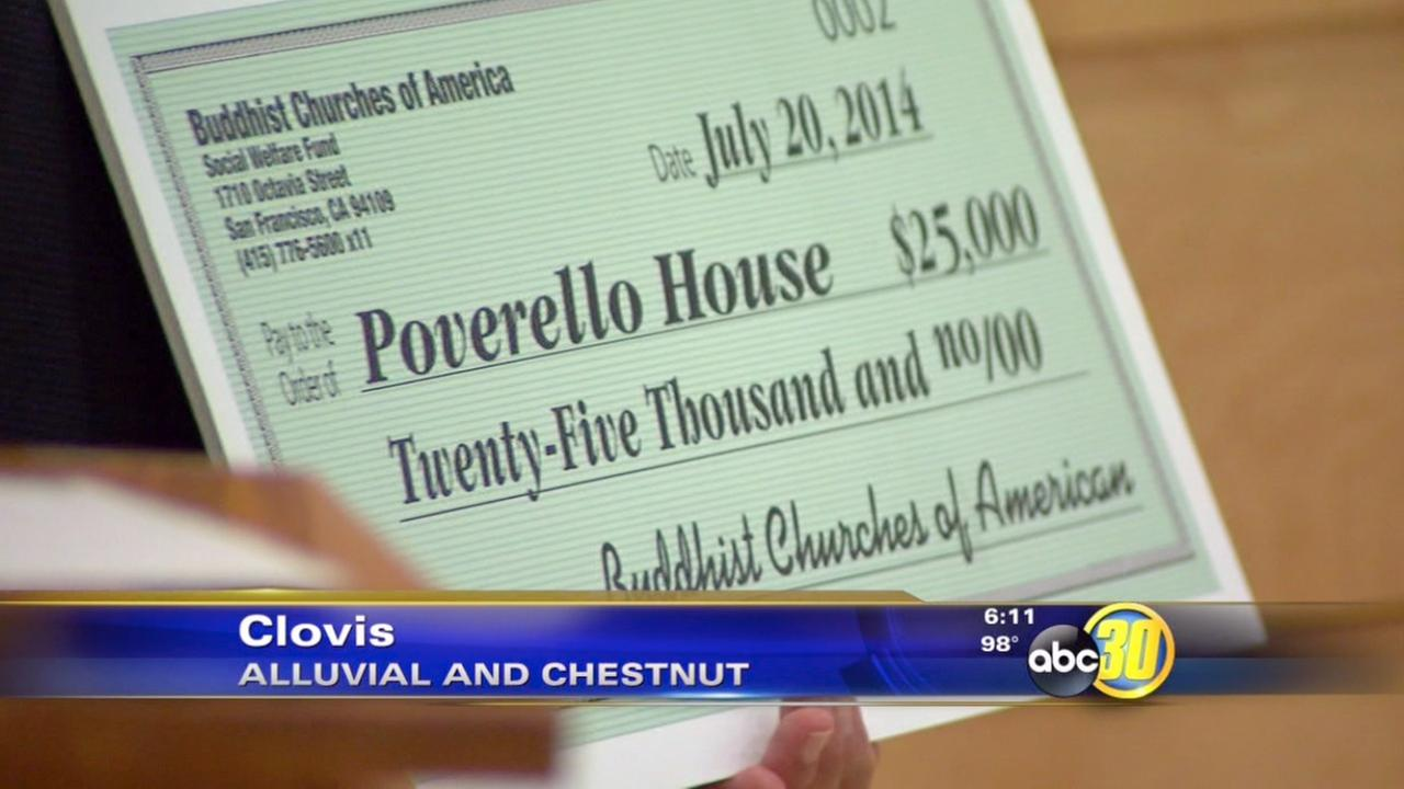 Community Food Bank, Poverello House receive $25K donations