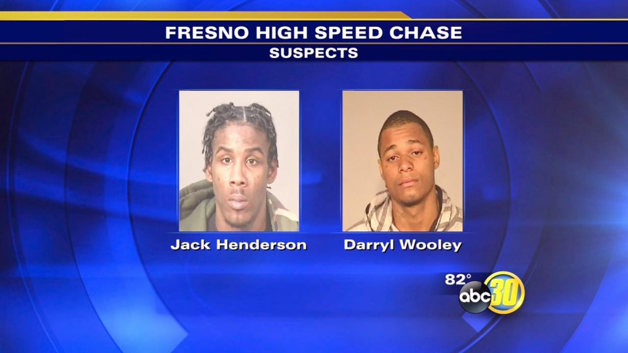 3 arrested after high-speed chase in Fresno