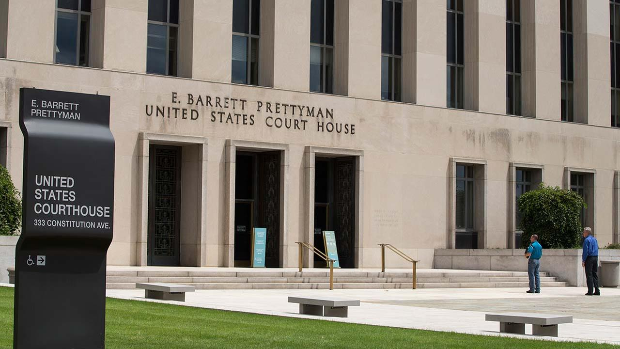 A view of the E. Barrett Prettyman Federal Courthouse that houses the U.S. Court of Appeals for the D.C. Circuit, on Tuesday, July 22, 2014, in Washington.