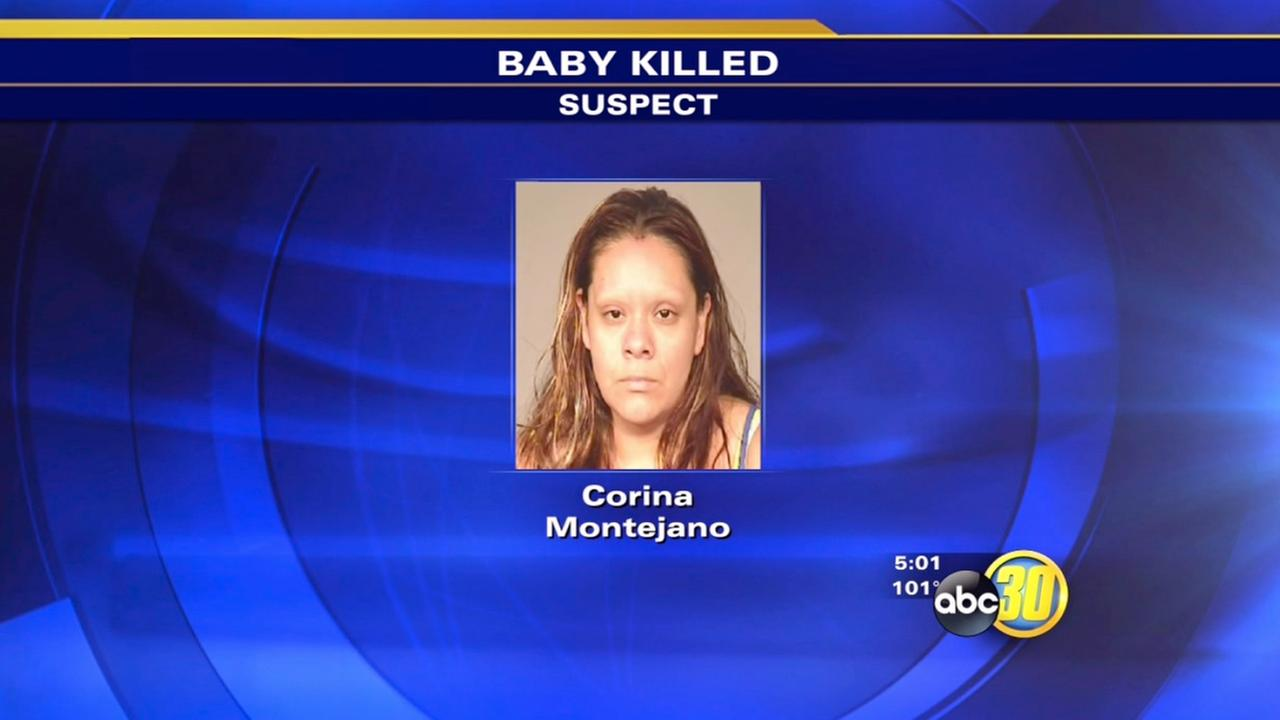 Fresno police arrest mom for allegedly killing infant son