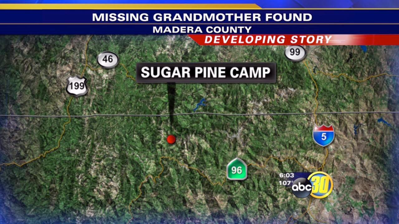 Grandmother reported dead by granddaughter found alive in Madera County