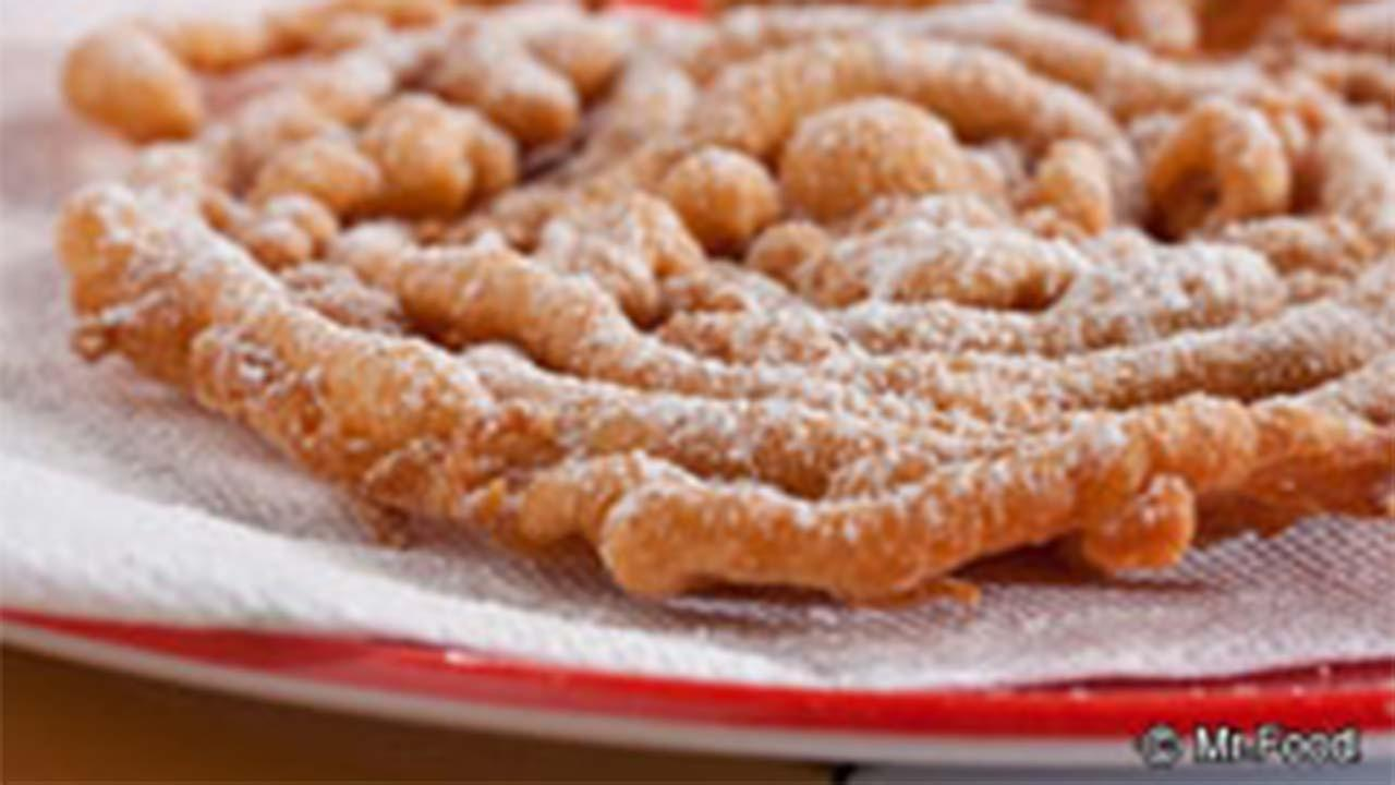 Food Network Funnel Cake Recipe