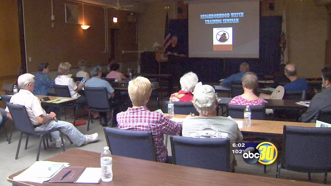 Fresno PD helps residents prevent crimes