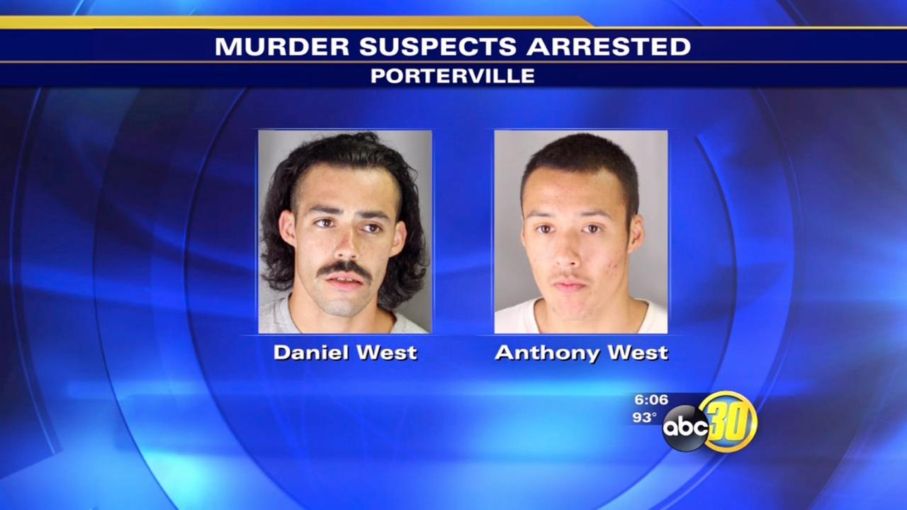 2 arrested in shooting death of man near Porterville