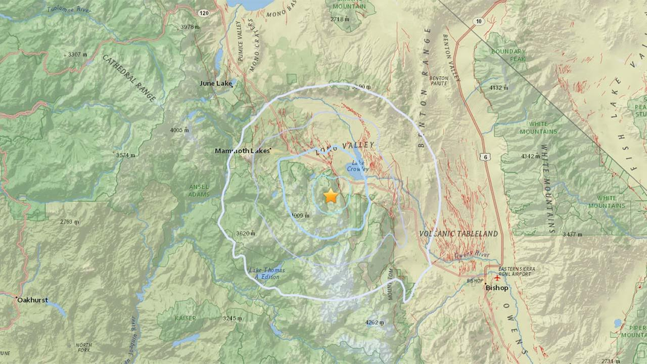 Magnitude 3.1 natural disaster reported near Julian