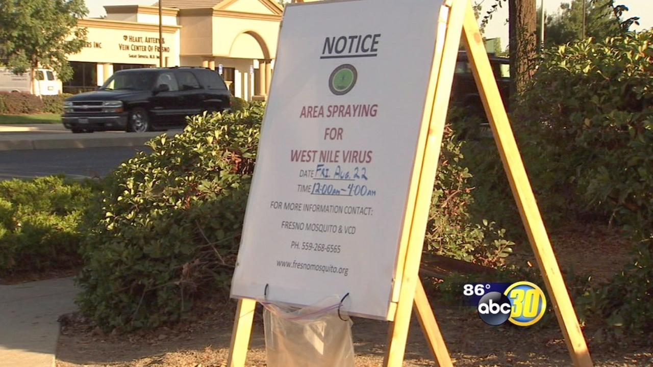 Neighborhood fogging begins for West Nile virus