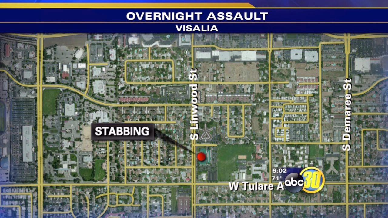 Police: Fight over roommate leads to stabbing in Visalia