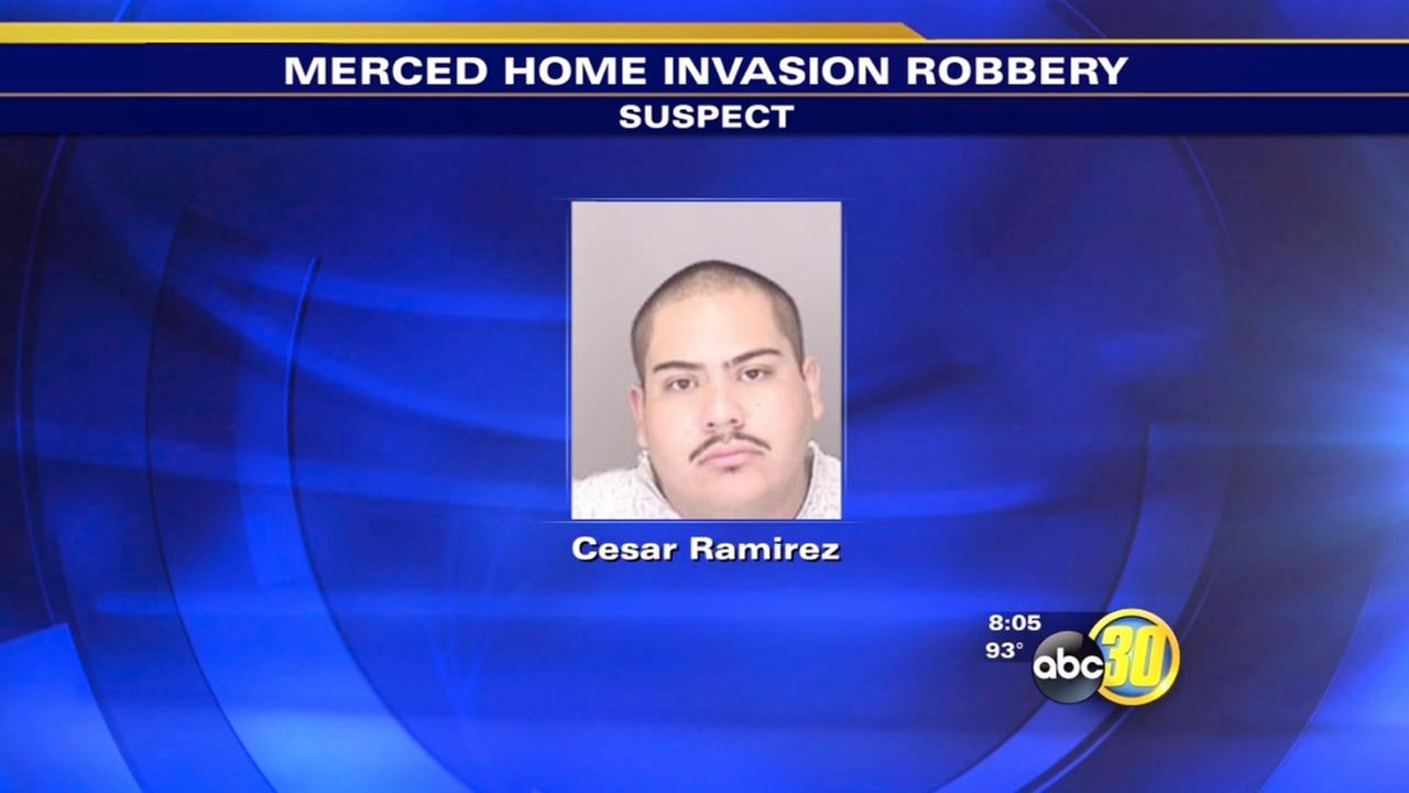 Merced police arrest 1, seek another in home-invasion robbery