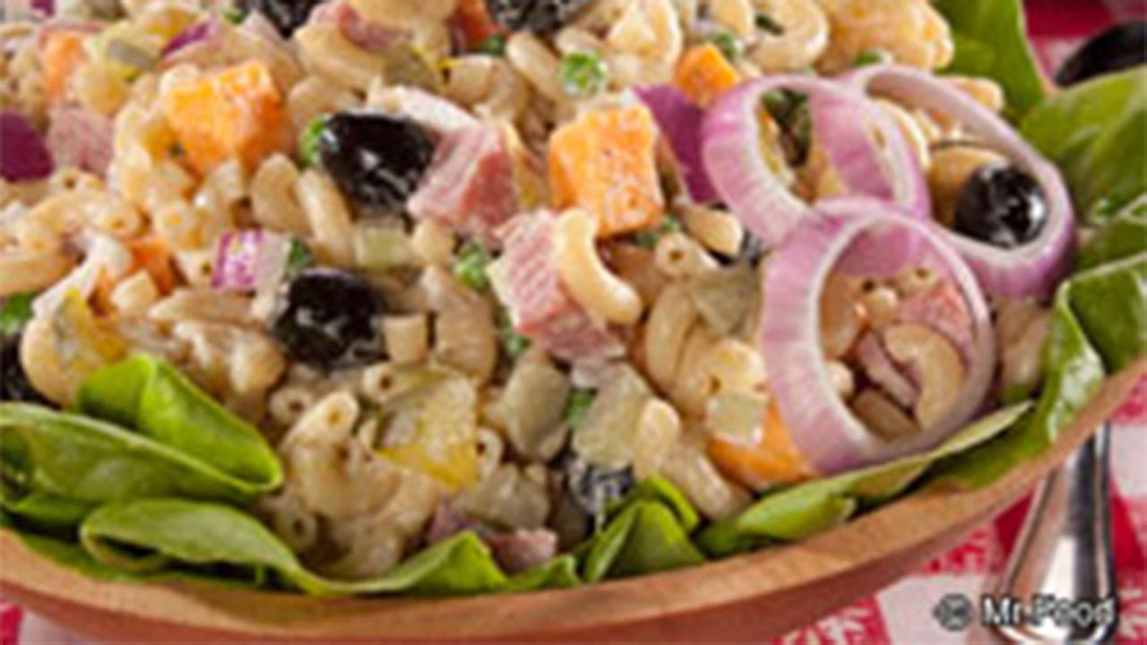 Mr Food Kitchen Sink Macaroni Salad