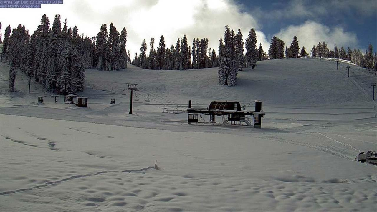Image of Badger Pass (now Yosemite Ski and Snowboard Area) on December 13, 2014.