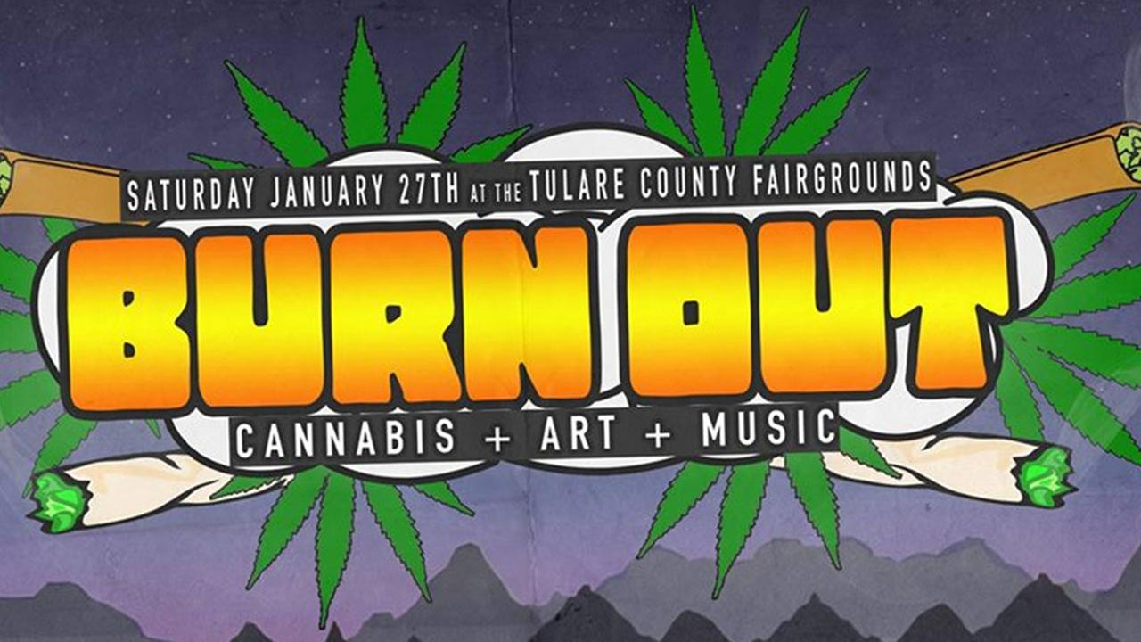 Screenshot of the Burnout festival Facebook event page