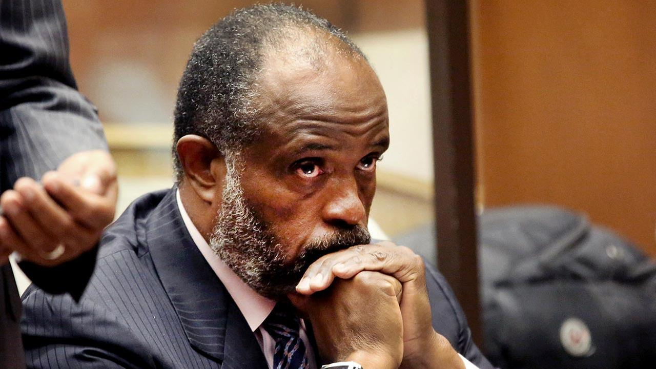 California state Sen. Rod Wright appears at a Los Angeles Courthouse during a hearing on Wednesday, Sept. 3, 2014.