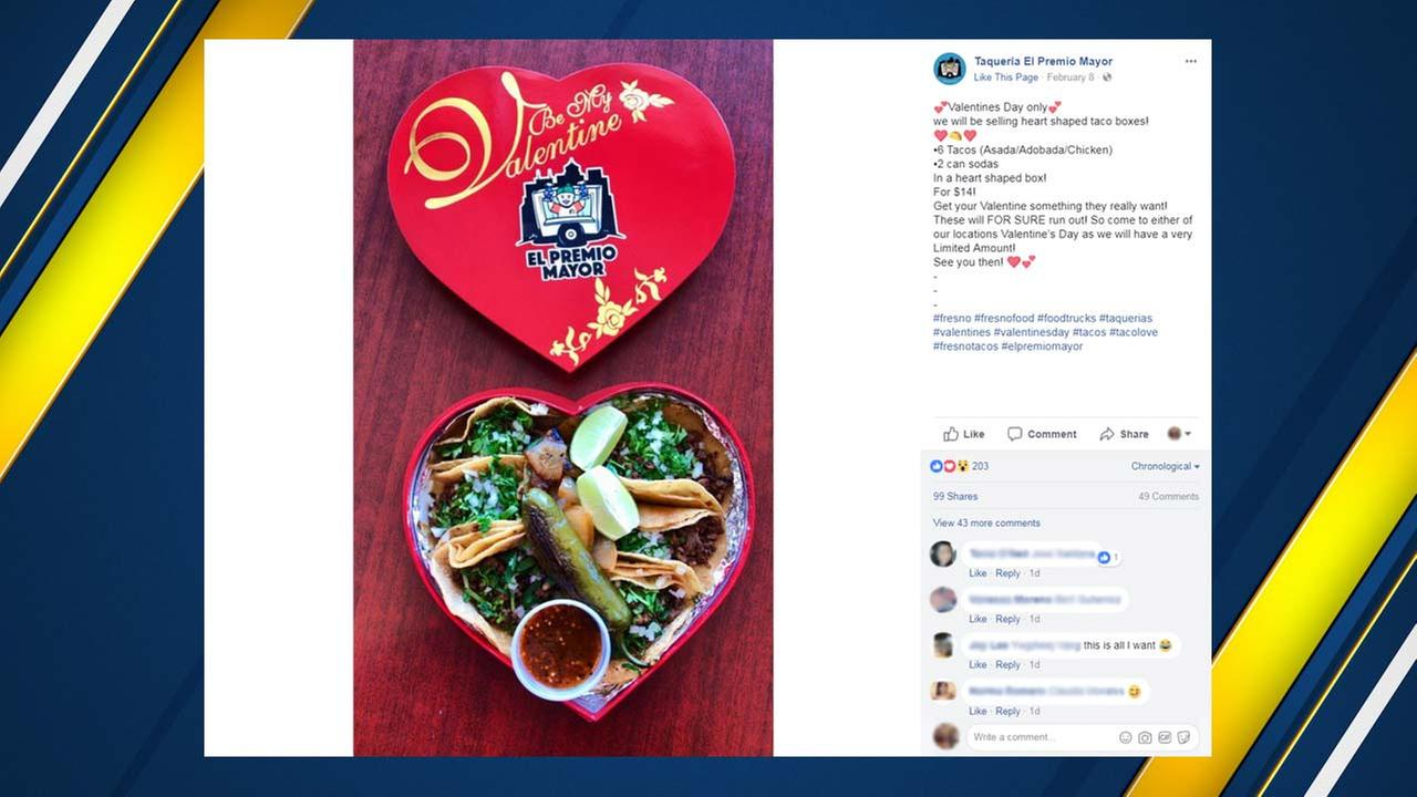 Do you have a significant other who may not like the traditional candies and flower on Valentines Day? Well a Fresno restaurant has you covered.