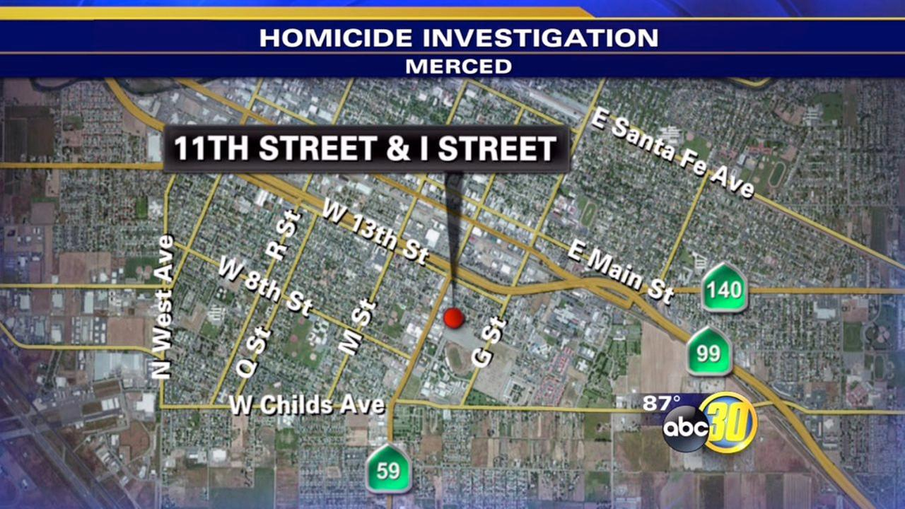 Man in his 20s shot, killed in Merced