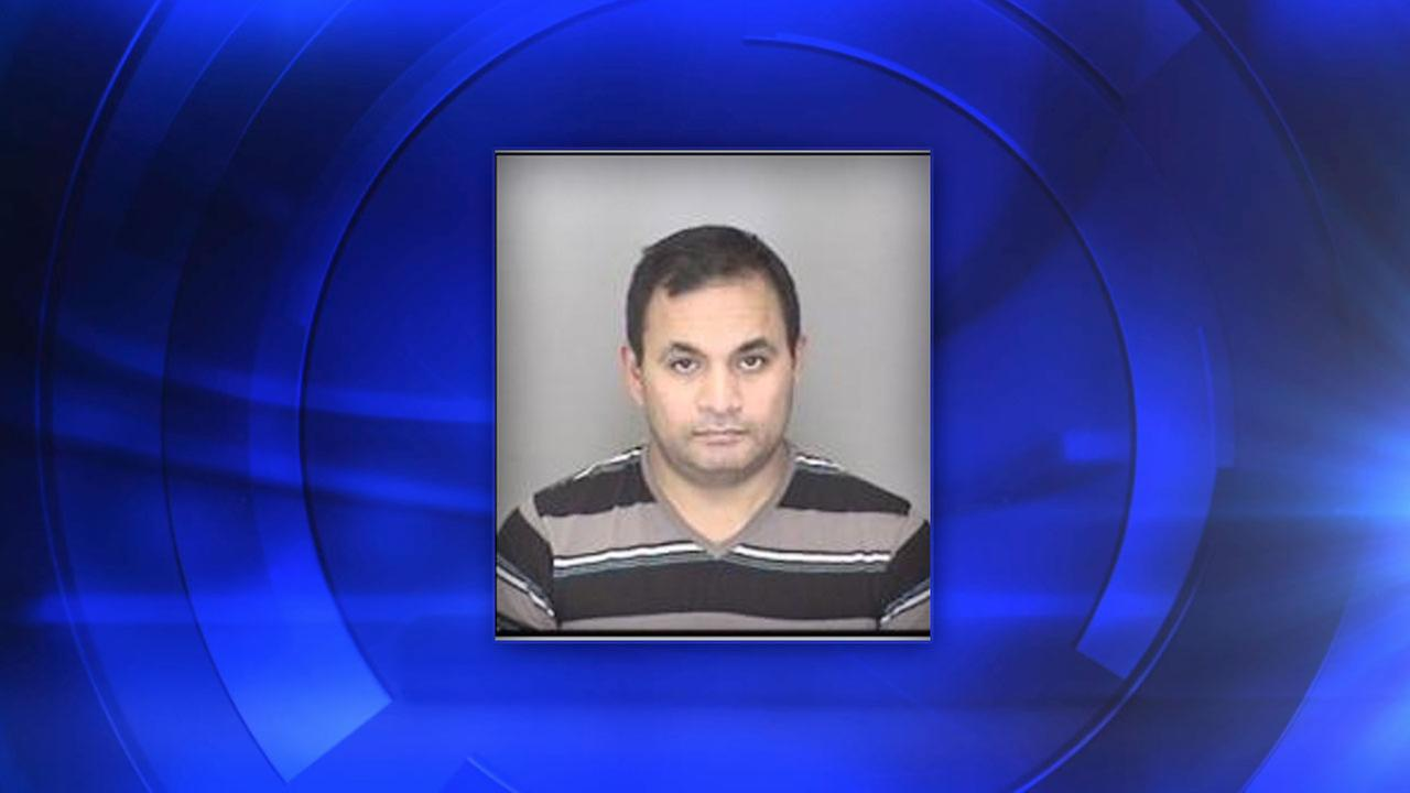 Merced Police said 34-year-old Lawrence Ramirez was arrested for possession and distribution of child pornography