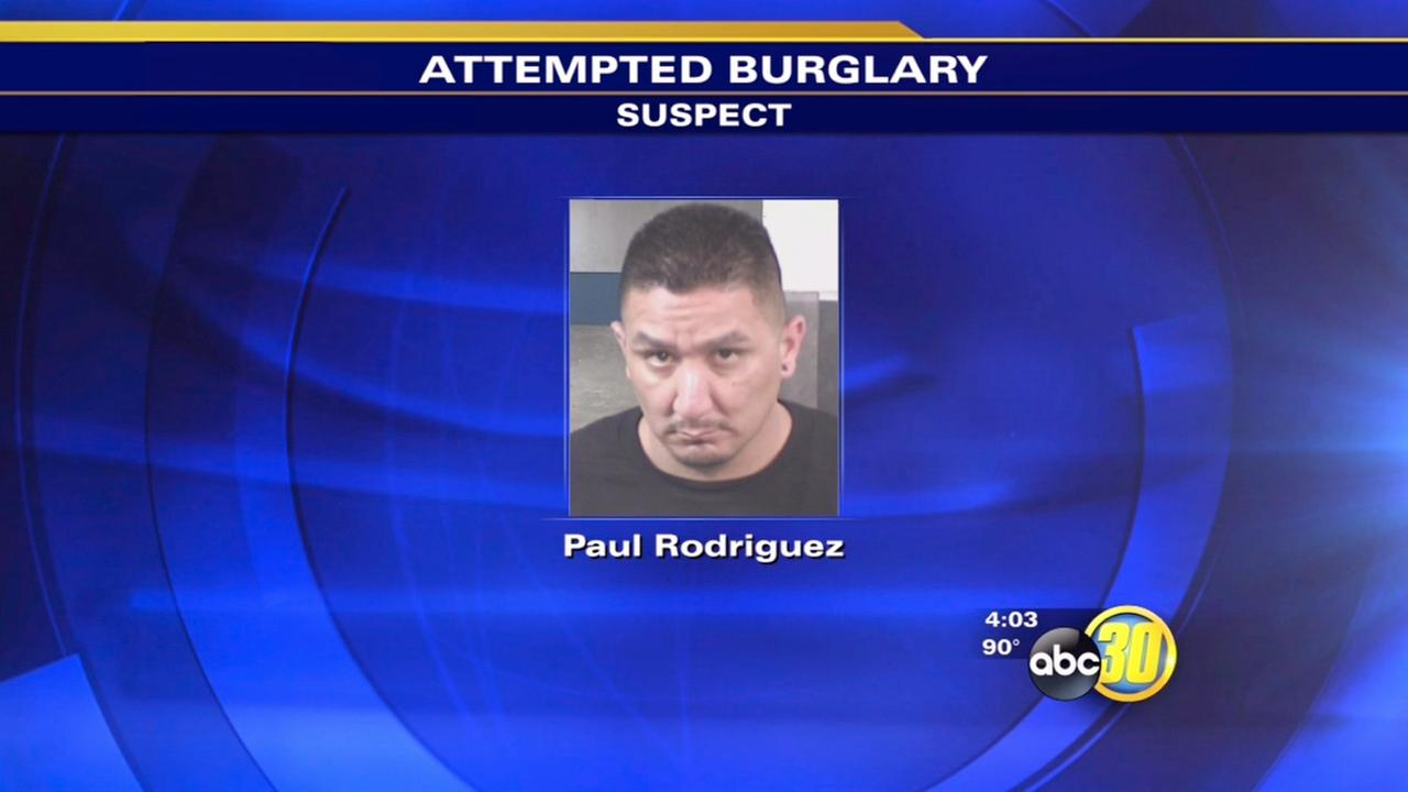 Fig Garden attempted burglary suspect arrested