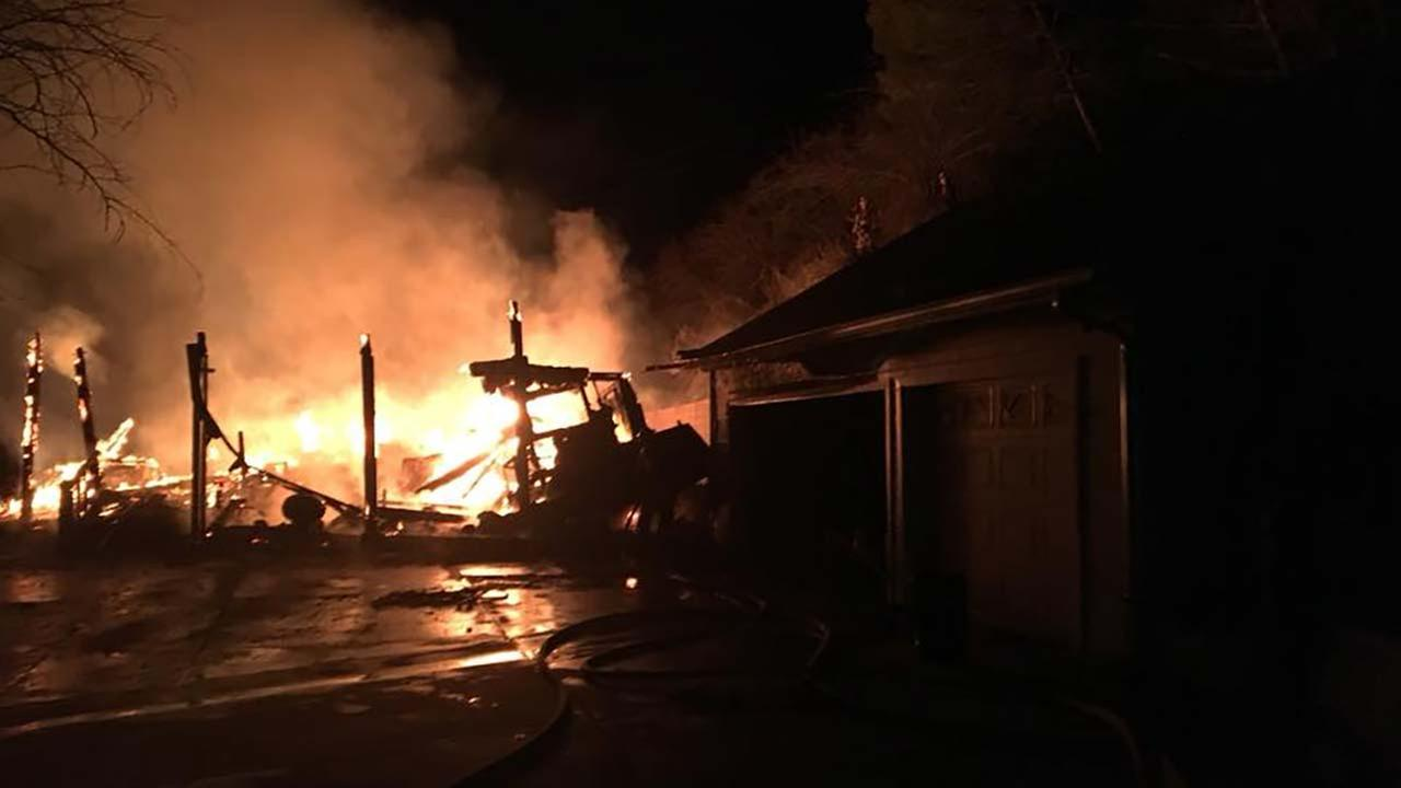 (Photo courtesy Tulare County Fire Department)
