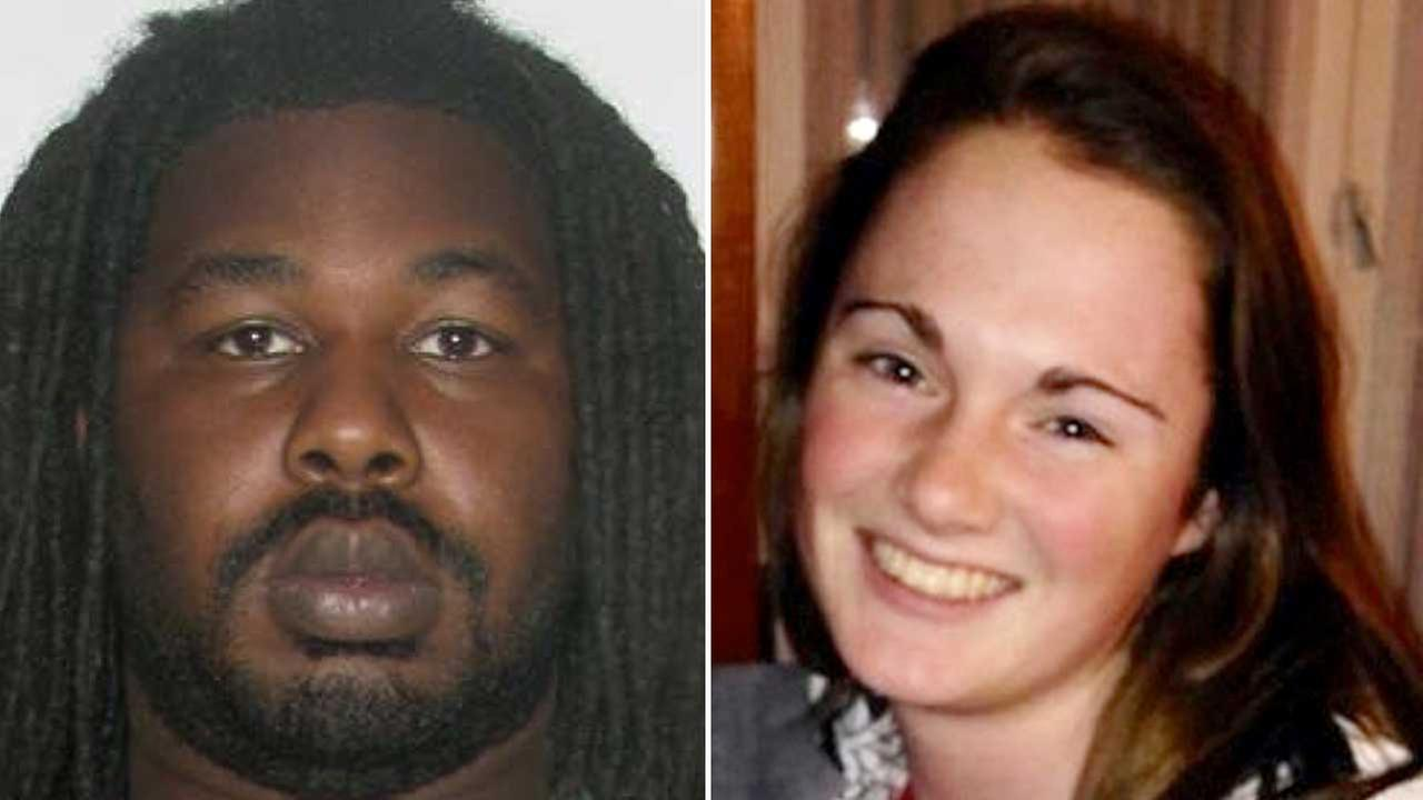 This undated photo provided by the Charlottesville, Va. Police Department shows Jesse Leroy Matthew Jr., left, who is now charged with abduction in Hanna Grahams disappearance