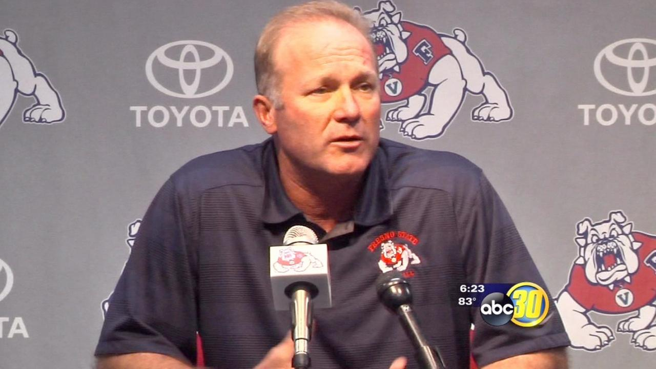 Coach DeRuyter sees progress from Bulldogs