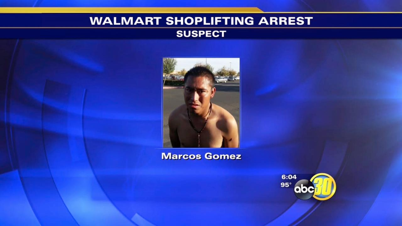 madera police quickly catch walmart shoplifting suspect abc30 madera police quickly catch walmart shoplifting suspect abc30 com marcos gomez was arrested on theft charges saturday evening