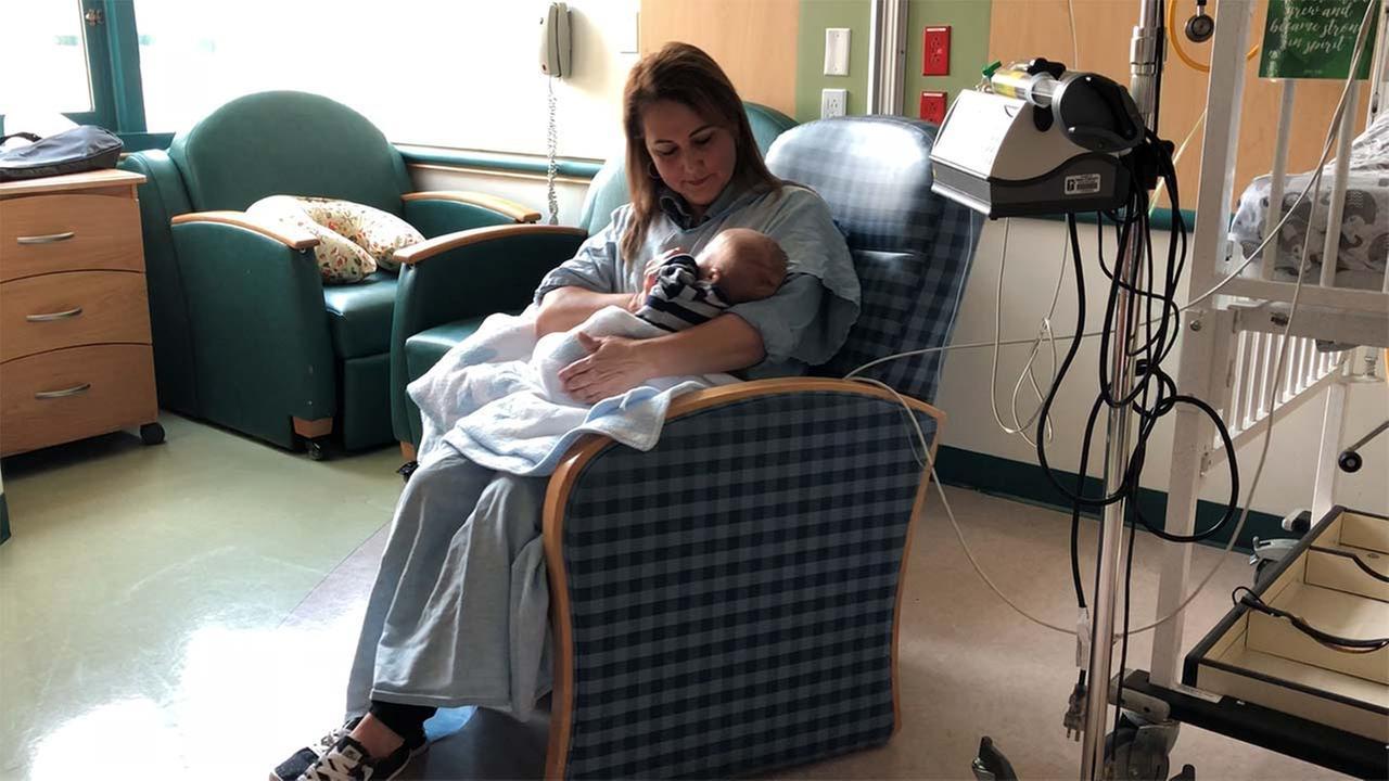 Volunteer cuddlers provide comfort for babies at Valley Children's Hospital
