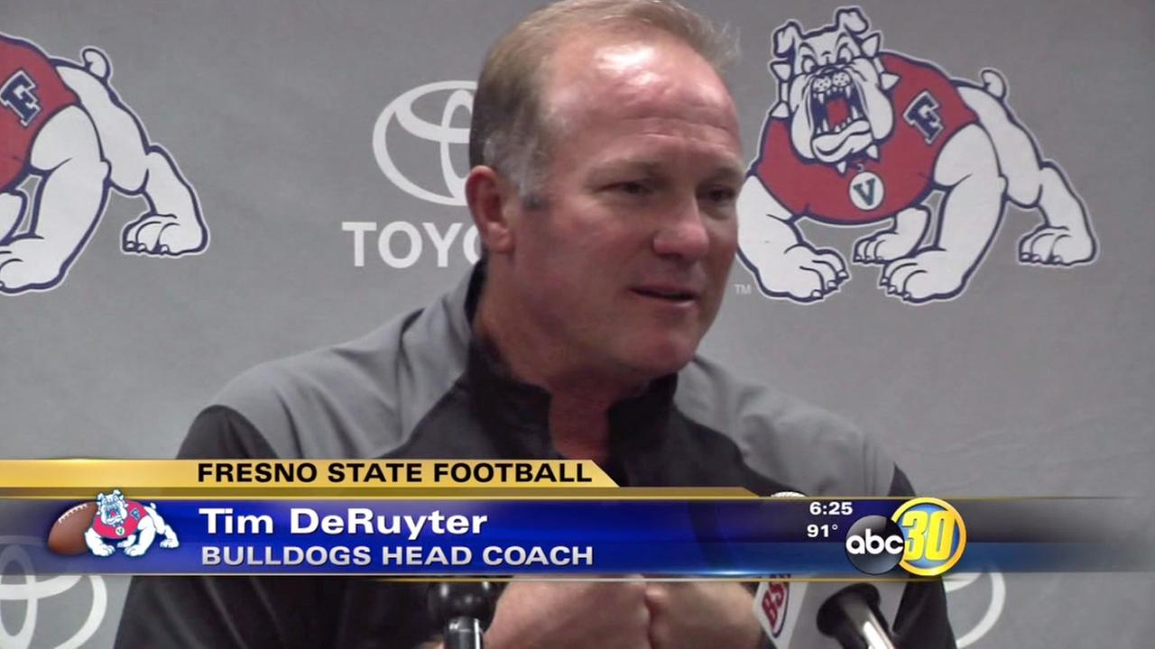 DeRuyter takes responsibility for UNLV loss