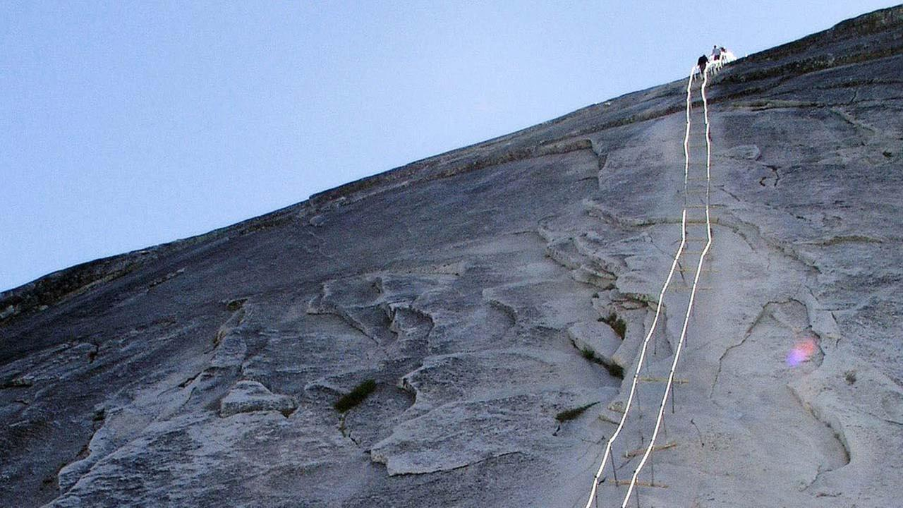 FILE: Half Dome cables in Yosemite National Park