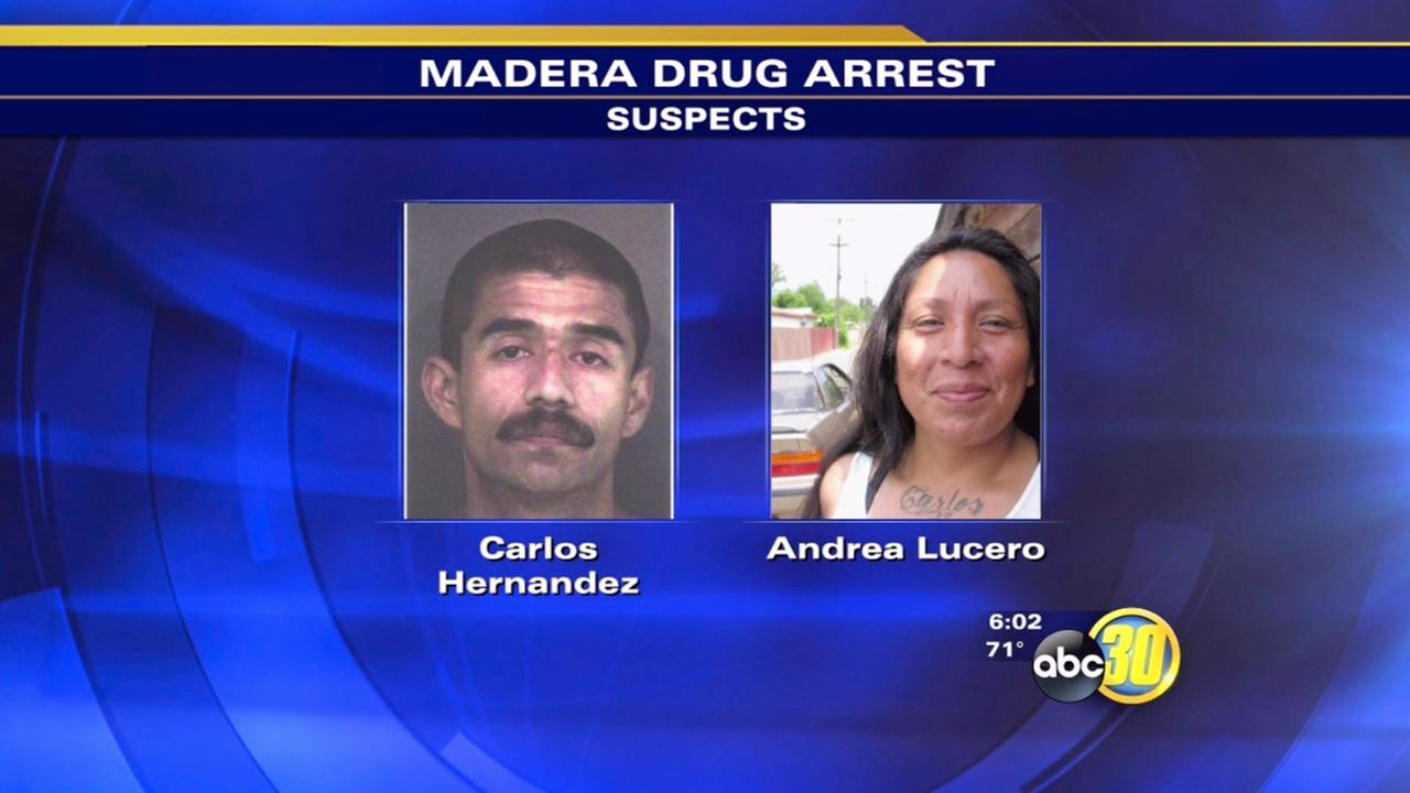Couple arrested for heroin possession in Madera - 1