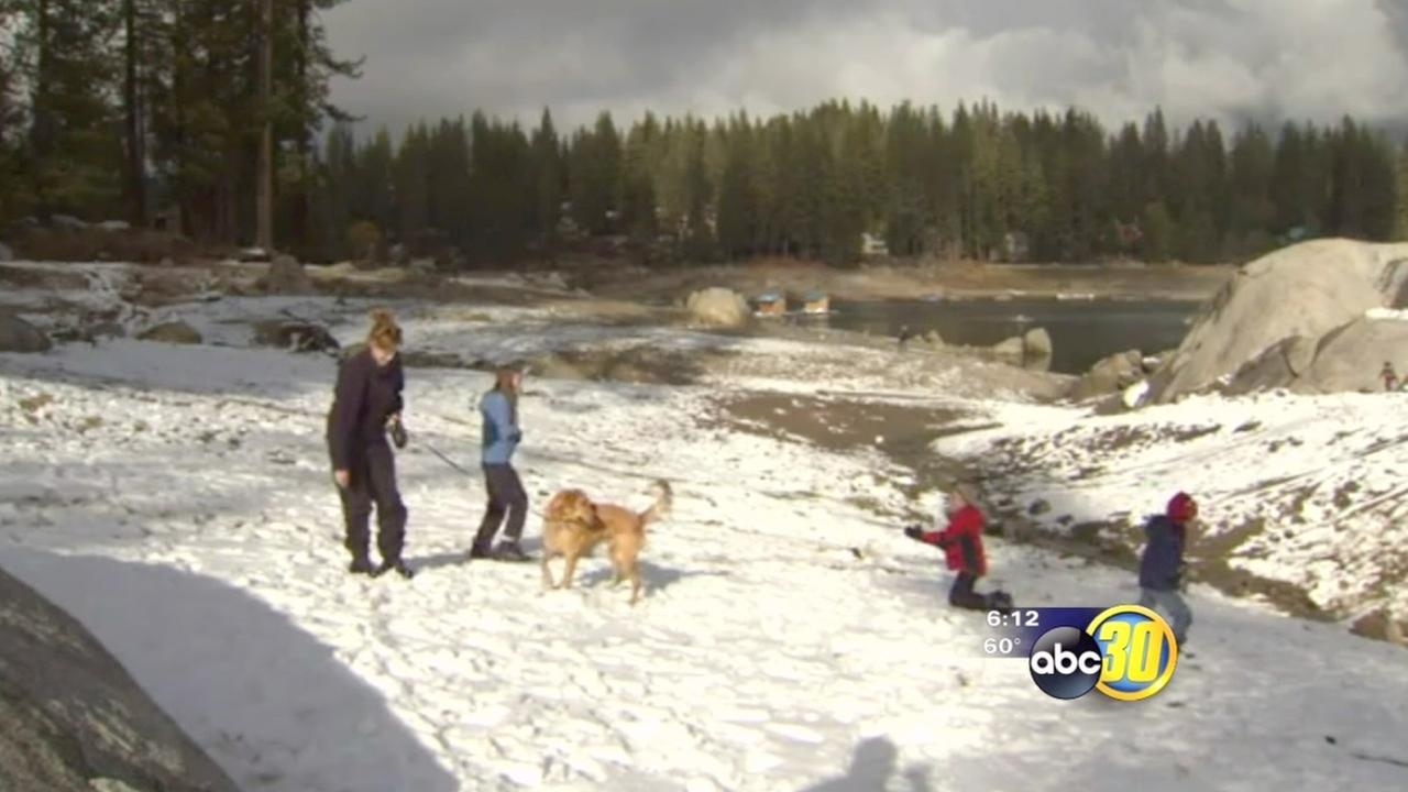 Snow brings hope for Shaver Lake businesses