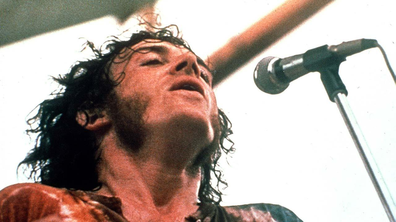 File: Joe Cocker performs at the Woodstock Festival of Arts and Music in Bethel, New York, August 1969.