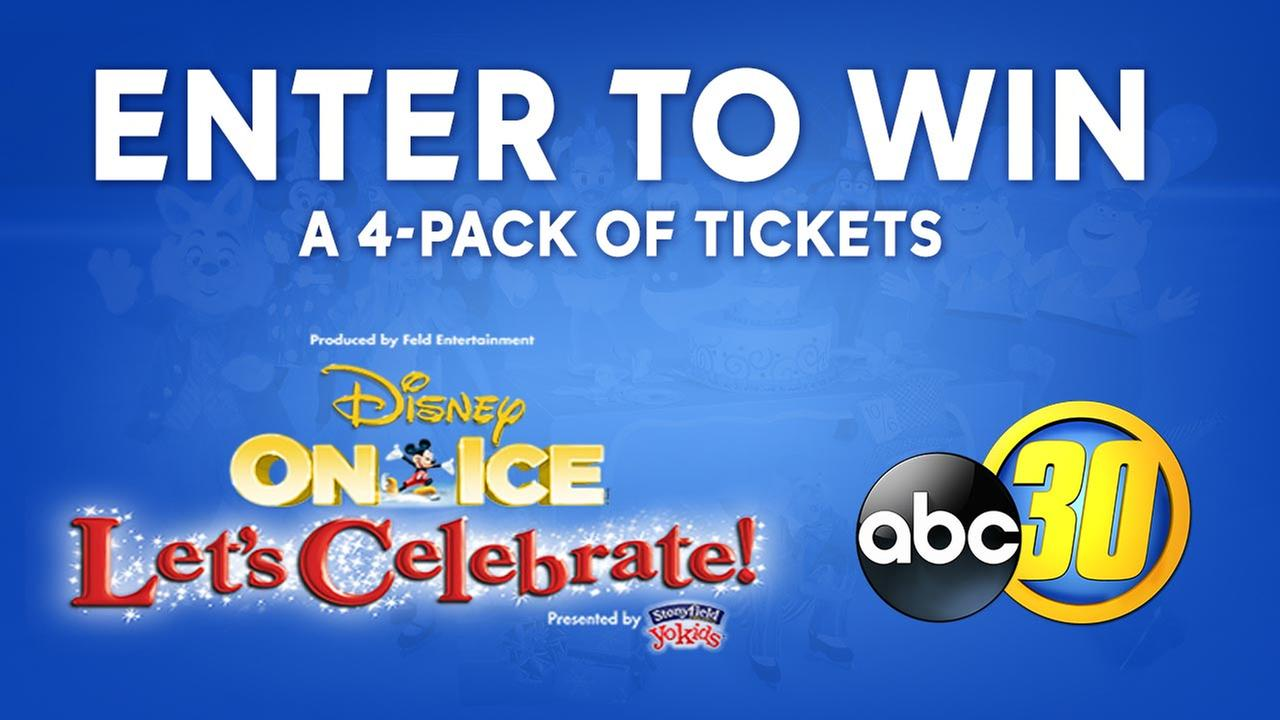 Enter to Win! ABC30 Disney on Ice Lets Celebrate Sweepstakes