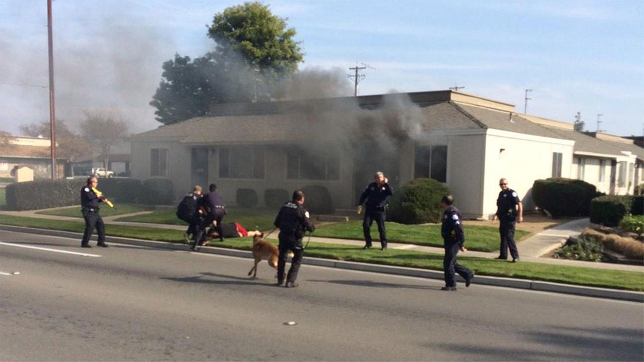 Suspect threatening to light apt on fire at Ashlan and Willow in custody, Fresno Police say
