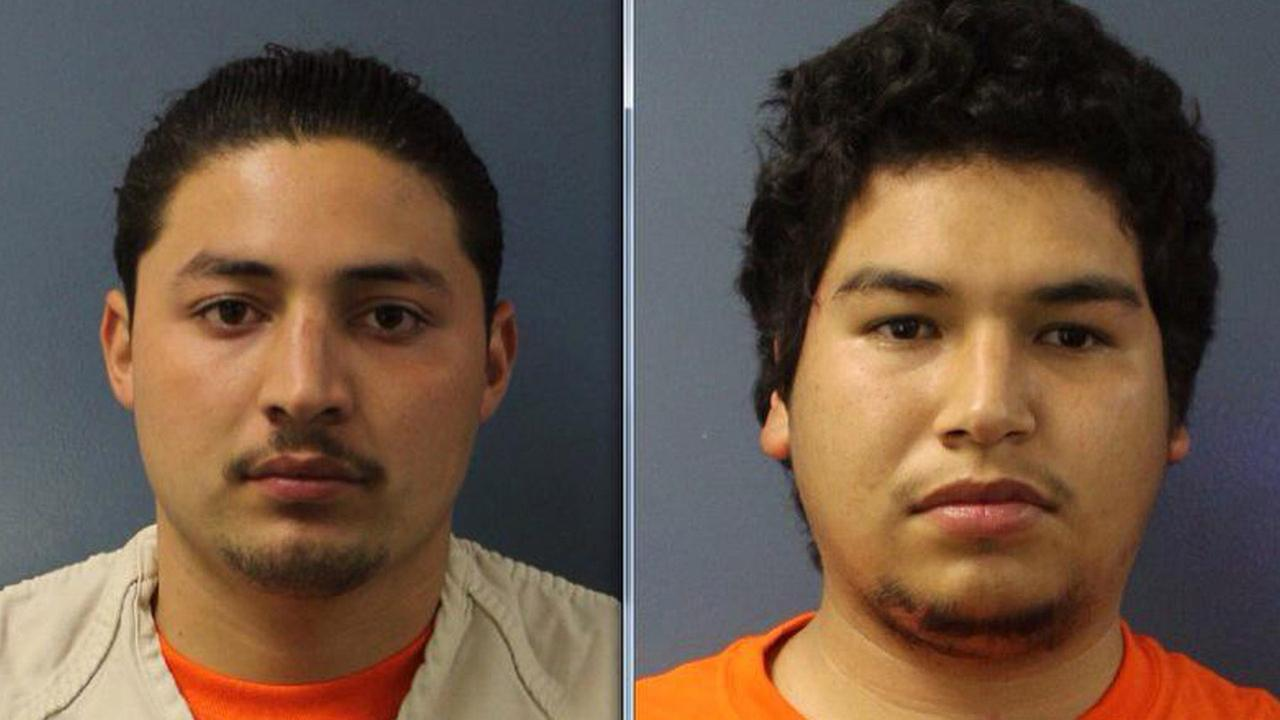 Andres Tapia, 19, and Alfredo Ibarra, 18, have been arrested for homicide and arson