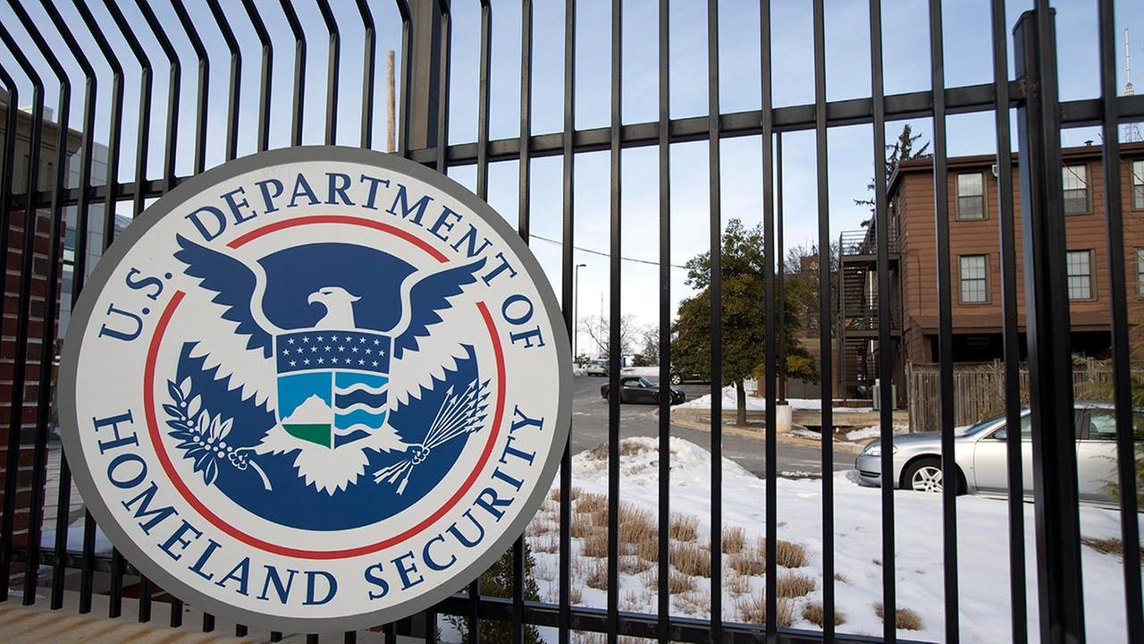 The Homeland Security Department headquarters