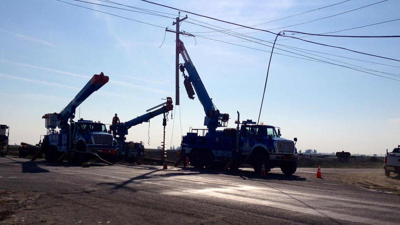 Stratford crash scene.