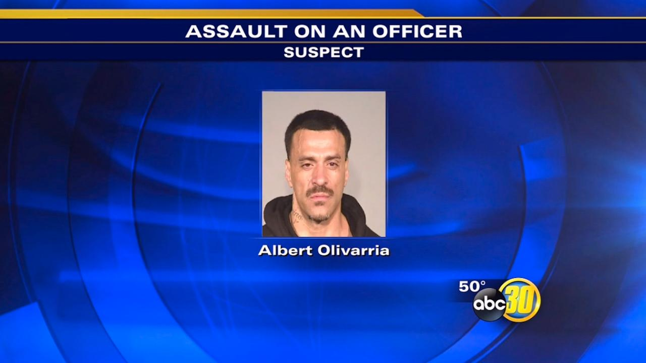 Man high on meth attacks female officer, Fresno police say