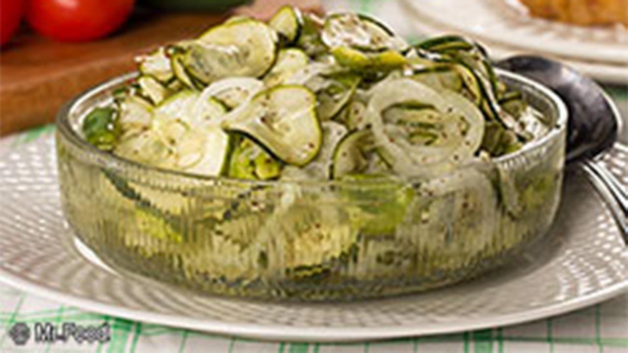Refrigerator Cucumber Pickles
