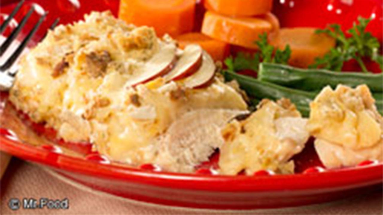 Mr. Food Swiss Fondue Chicken
