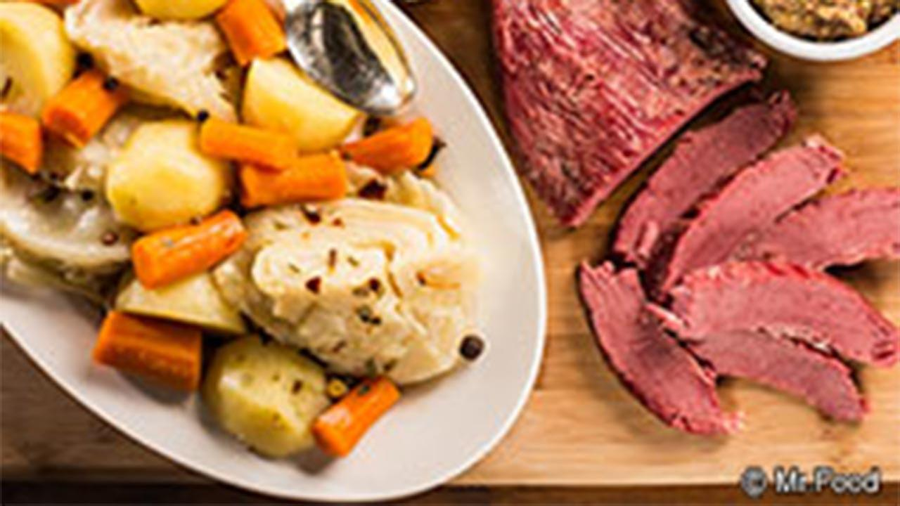 Fastest Corned Beef and Cabbage