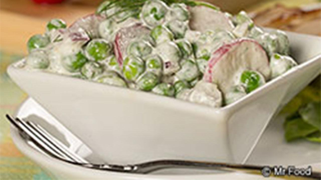 Dilly Pea Salad