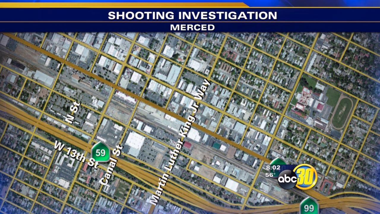 Merced police look for motive in shooting that injured man
