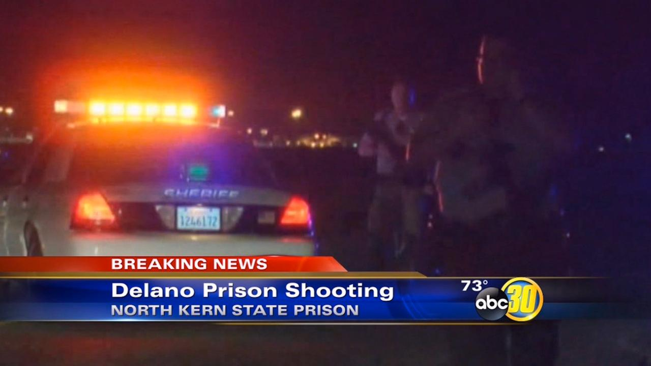 North Kern State Prison, shooting, Correctional officer wounded,