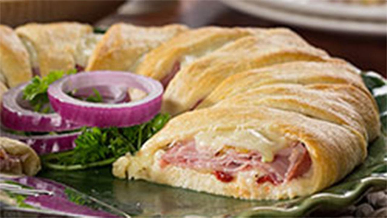 Food Rings Recipes Crescent Ring Recipe