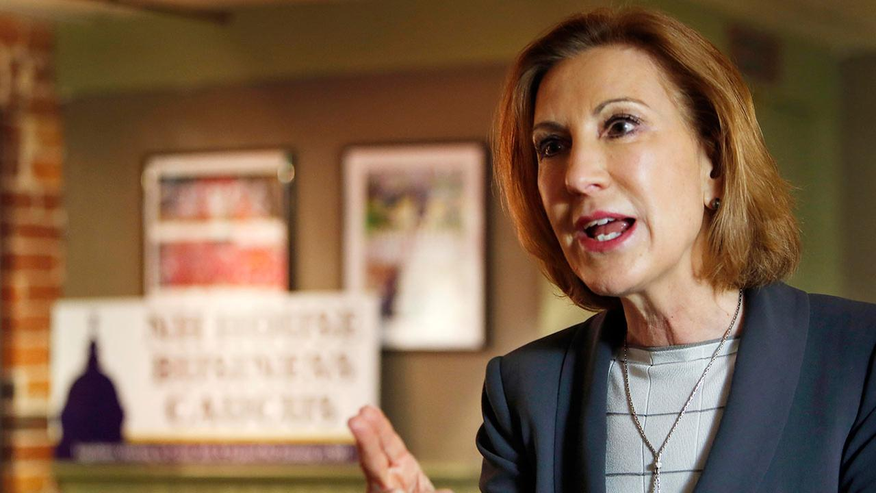 Former Hewlett-Packard CEO Carly Fiorina