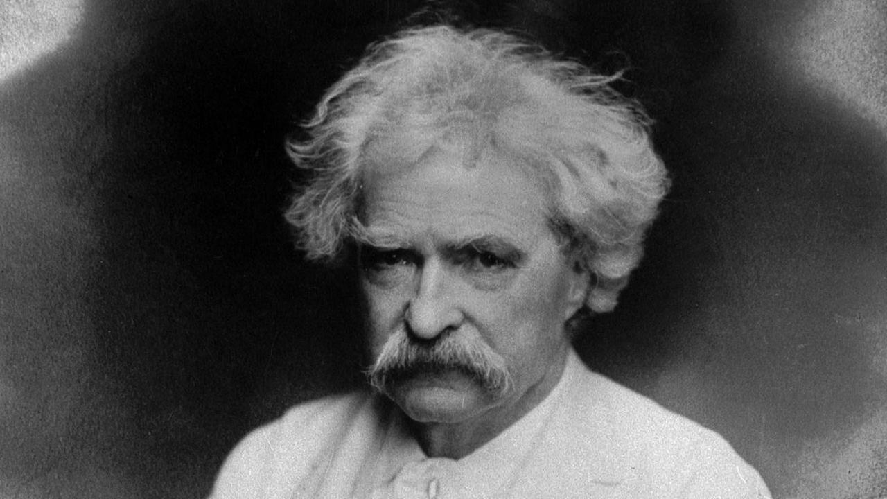 Author Samuel Longhorne Clemens, better known under his pen name, Mark Twain, is seen in this undated photo.